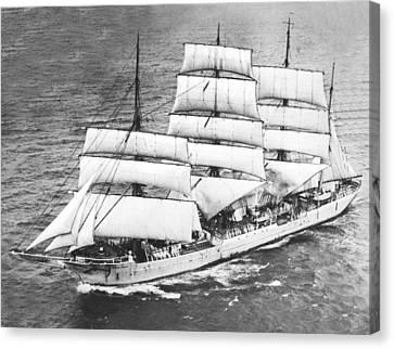 Swedish Training Sailing Ship Canvas Print