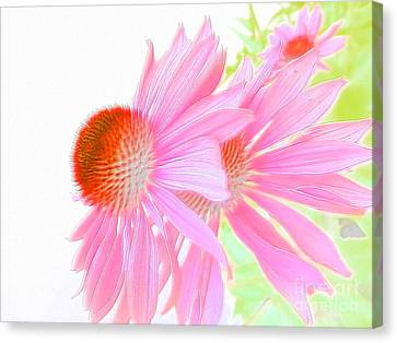 Sweet And Gentle Canvas Print by Angelia Hodges Clay