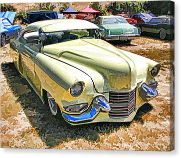 Sweet And Low-rider 3/4 Front View Canvas Print by Samuel Sheats