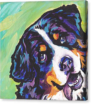 Sweet Berner Canvas Print by Lea S
