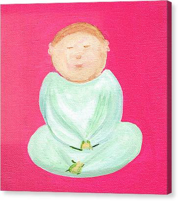 Sweet Buddha Canvas Print
