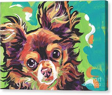 Chocolate Canvas Print - Sweet Choco Chi  by Lea S