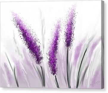 Foggy Day Digital Art Canvas Print - Sweet Dreams 2 by Kume Bryant