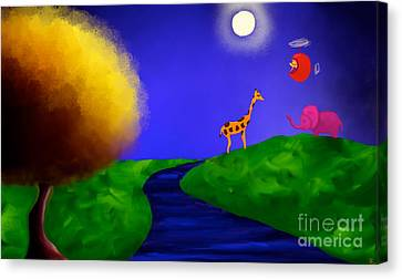 Sweet Dreams Canvas Print by Anita Lewis