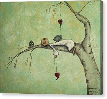 Melancholy Canvas Print - Sweet Dreams by Charlene Murray Zatloukal