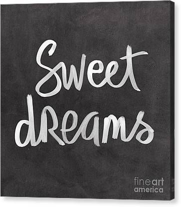 Pattern Canvas Print - Sweet Dreams by Linda Woods