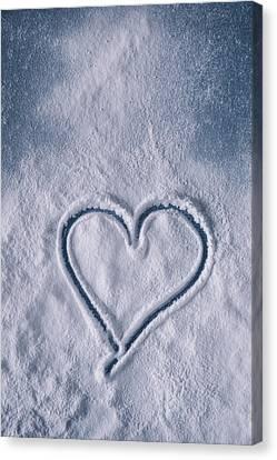 Sweet Heart Canvas Print by Joana Kruse
