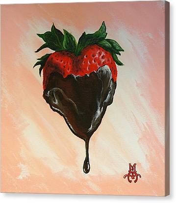 Sweet Heart Canvas Print by Marco Antonio Aguilar