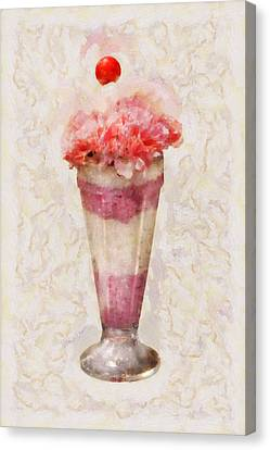 Sweet - Ice Cream - Ice Cream Float  Canvas Print