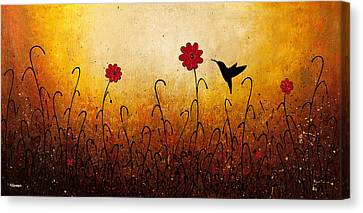 Sweet Inspiration Canvas Print by Carmen Guedez