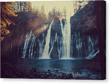Water Flowing Canvas Print - Sweet Memories by Laurie Search