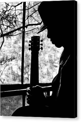 Sweet Music Man Canvas Print by EG Kight