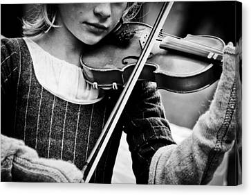 Sweet Music Canvas Print by Off The Beaten Path Photography - Andrew Alexander