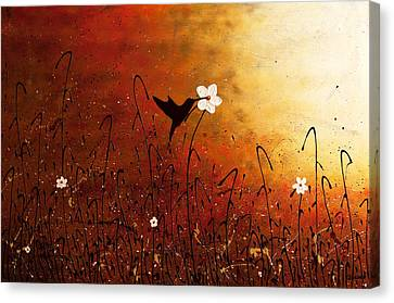 Sweet Nectar Canvas Print by Carmen Guedez
