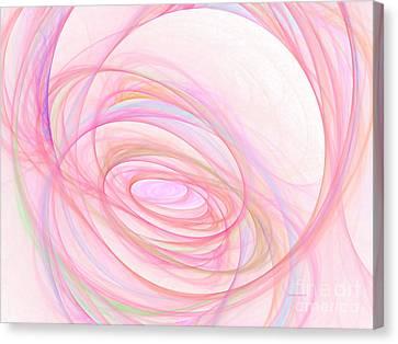 Sweet Pink  Canvas Print by Tatjana Popovska