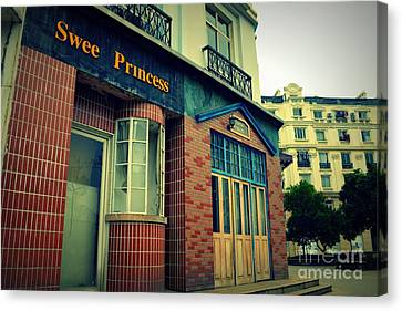 Sweet Princess 2 Canvas Print by Shawna Gibson