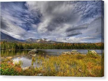 Maine Mountains Canvas Print - Sweet Serenity by Sharon Batdorf