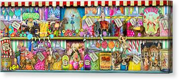 Sweet Shop Panoramic Canvas Print by Aimee Stewart