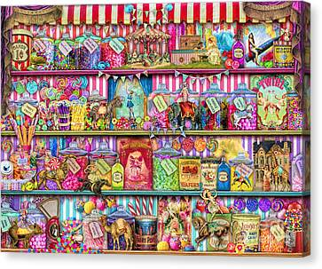Sweet Shoppe Canvas Print by Aimee Stewart