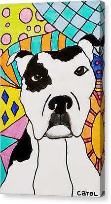 Sweet Spot Pit Canvas Print by Carol Hamby