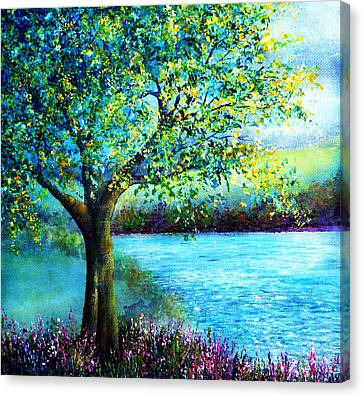 Sweet Spring Canvas Print by Ann Marie Bone