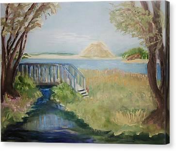 Sweet Springs Canvas Print by Jan Moore