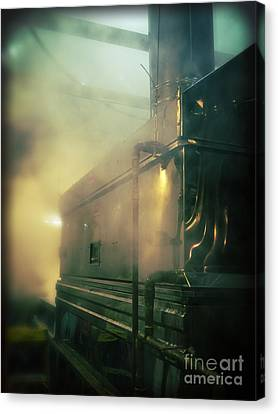 Sweet Steam Canvas Print by Edward Fielding