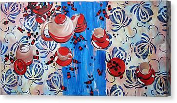 Sweet -stuff Canvas Print by Anastasija Kraineva