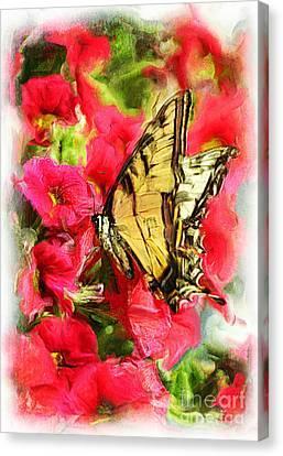 Sweet Swallowtail Canvas Print