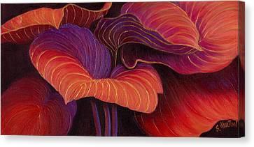Sweet Tarts Canvas Print by Sandi Whetzel