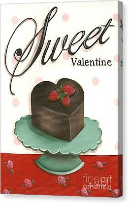 Sweet Valentine  Canvas Print by Catherine Holman