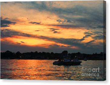Sweeter For This Canvas Print by Christine Segalas