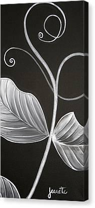 Sweetpea Vine Canvas Print