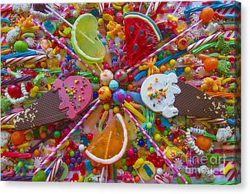 Sweets 1 Canvas Print by Aimee Stewart
