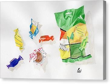 Sweets Canvas Print by Bav Patel