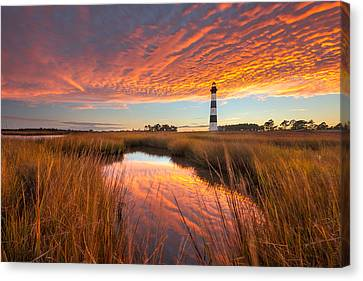 Swept Away - Bodie Island Lighthouse Canvas Print