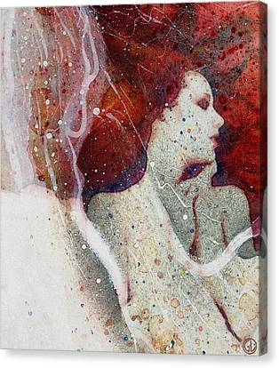 Swept In A Bubbly Dream Canvas Print by Gun Legler