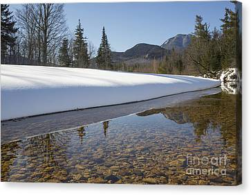 Swift River - Albany New Hampshire Usa Canvas Print by Erin Paul Donovan