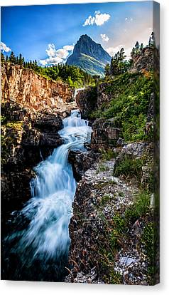 Swiftcurrent Falls Canvas Print