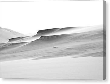 Canvas Print featuring the photograph Swiftly Moving Dunes by Adria Trail
