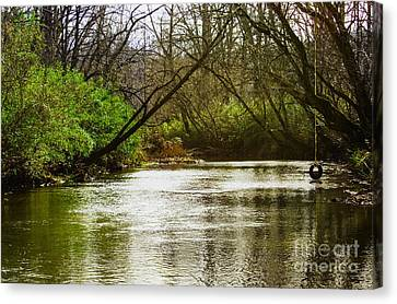 Undefined Canvas Print - Swimming Hole 2 by Michael Waters