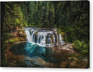 Swimming Hole Canvas Print by James Heckt