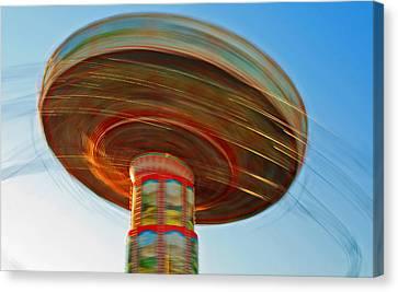 Swingin' @ Pavilion/broadway Canvas Print