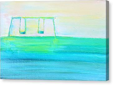 Swings Canvas Print by Fabrizio Cassetta