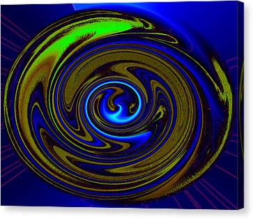 Swirl Canvas Print by Claire Hull