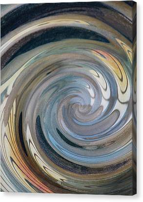 Canvas Print featuring the photograph Swirl by Diane Alexander