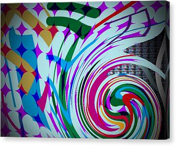 Swirl Canvas Print by Kelly McManus