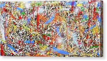 Swirls Amore Canvas Print