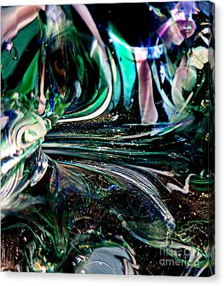 Swirls Of Color And Light Canvas Print by Kitrina Arbuckle