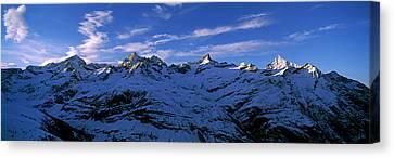 Swiss Canvas Print - Swiss Alps From Gornergrat, Switzerland by Panoramic Images